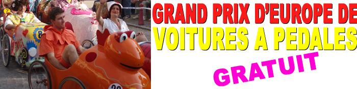 Photo illustrant VOITURES A PEDALES : Grand Prix d'Europe
